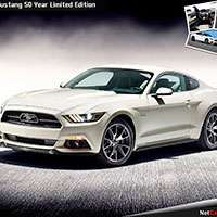 Ford Mustang 50 Year Limited Edition ищет хозяина